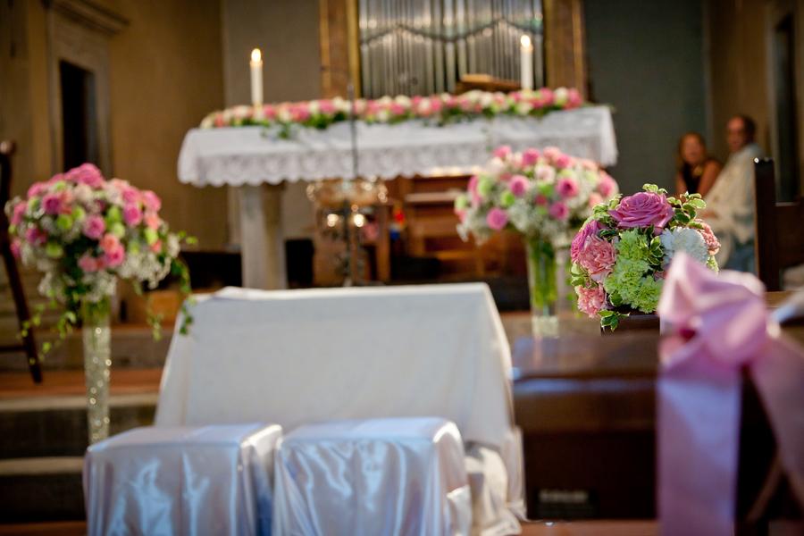 Wedding Flowers Church Decoration