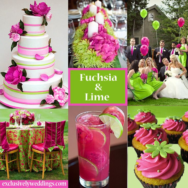 Pink Wedding Decoration Ideas: Pink And Fuschia Wedding Colors