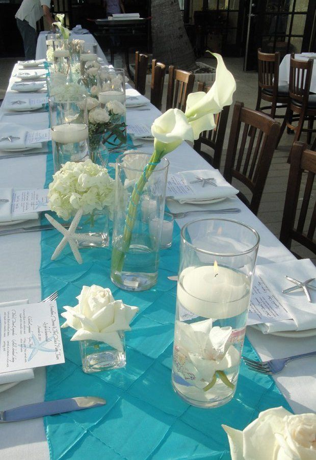 Teal wedding table decorations images wedding decoration ideas teal wedding table decorations junglespirit Image collections
