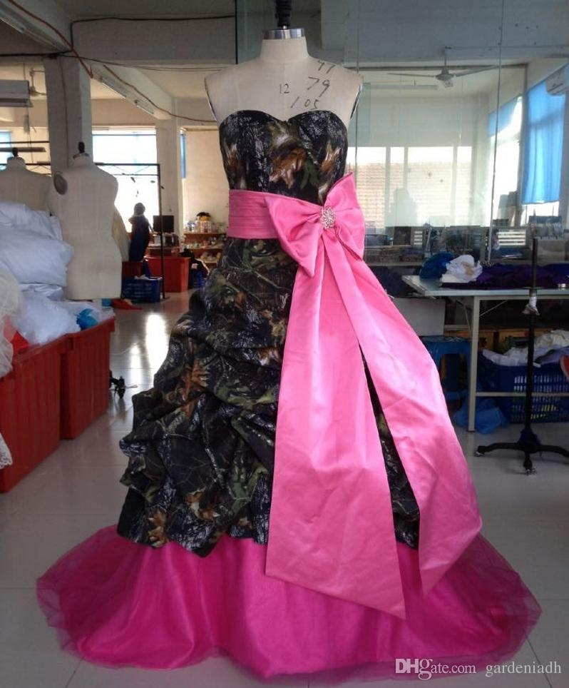 Awesome Pink Camo Wedding Gowns Photos - Top Wedding Gowns ...