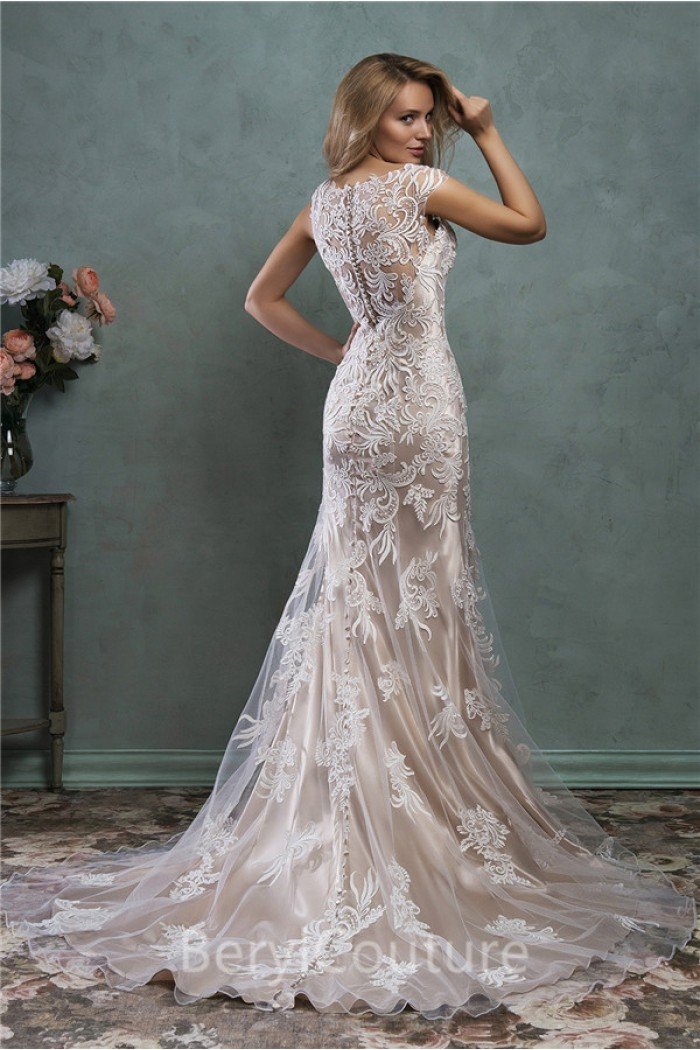 Wedding Dress Champagne Lace   Wedding Gallery