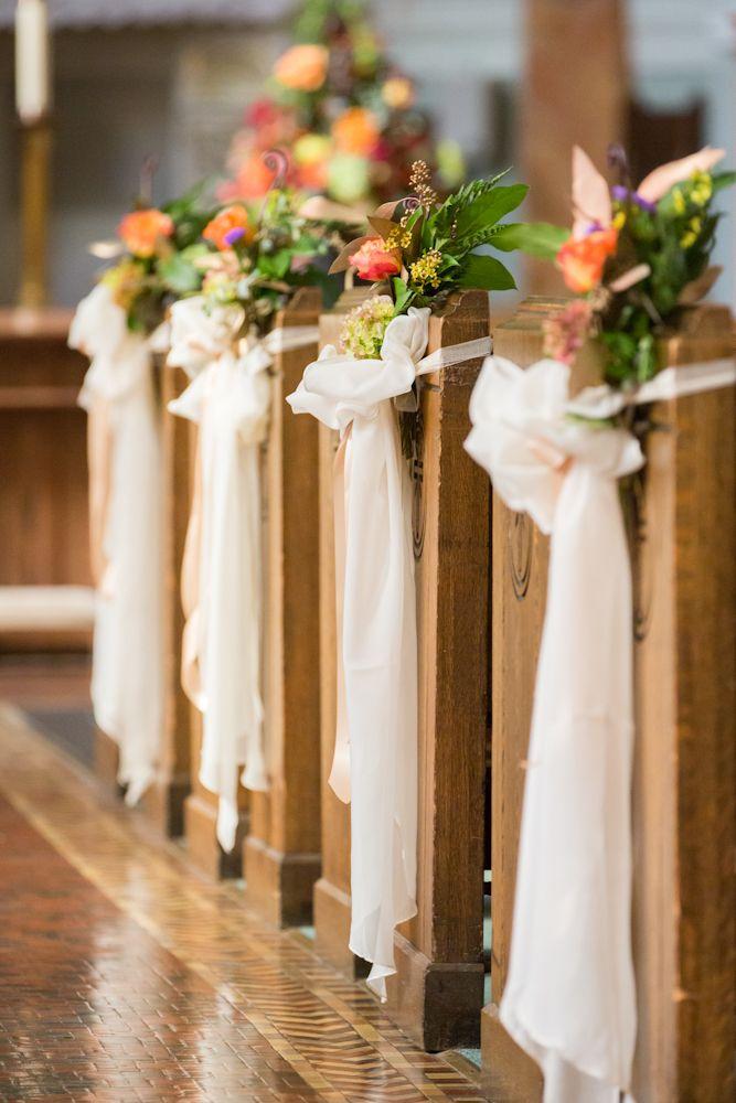 Church wedding aisle decorations junglespirit Image collections