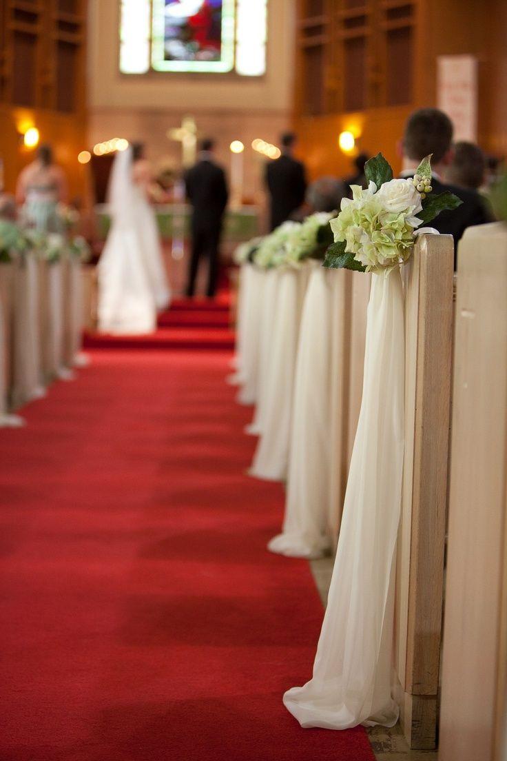 Church Wedding Aisle Decorations