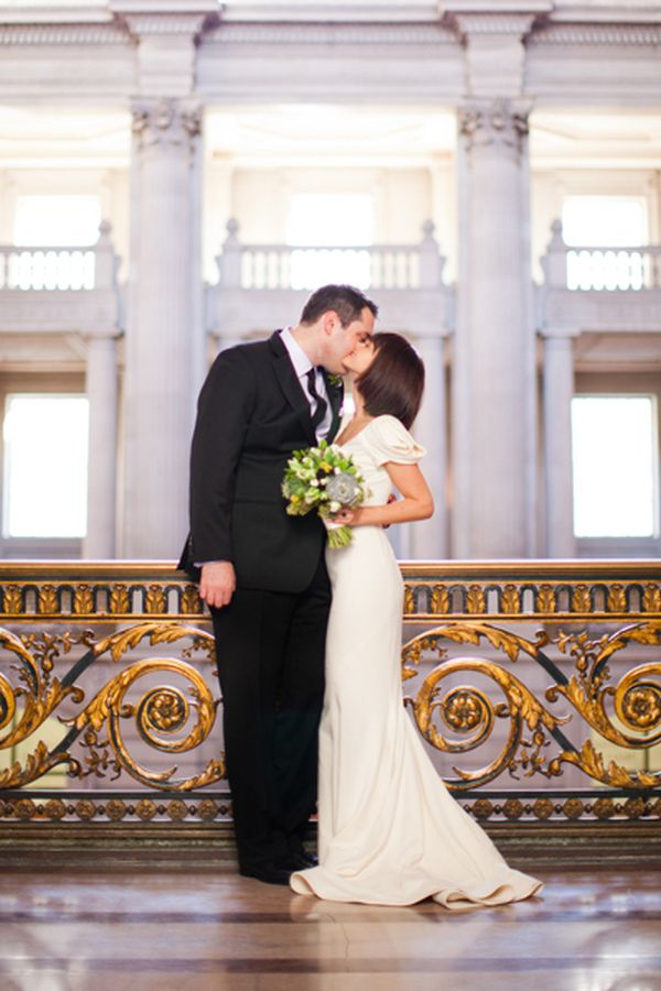 City Hall Wedding Dress