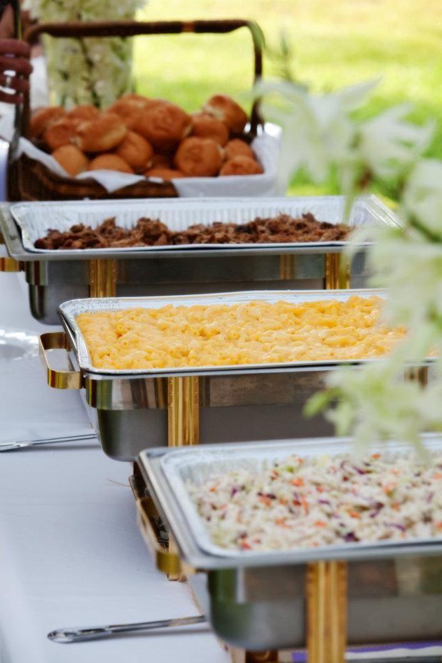 Bbq Themed Wedding Reception Therapyboxfo