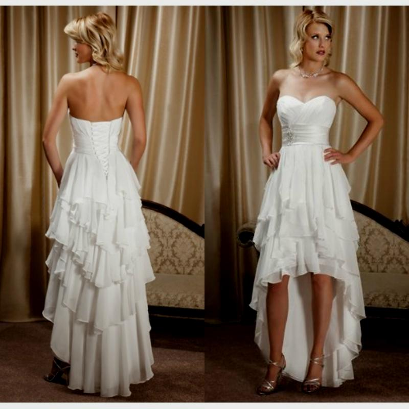 Country Style High Low Wedding Dresses Naf Dresses Country High Emasscraft Org