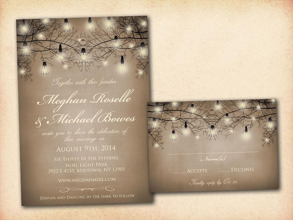 country wedding invitation wording 9