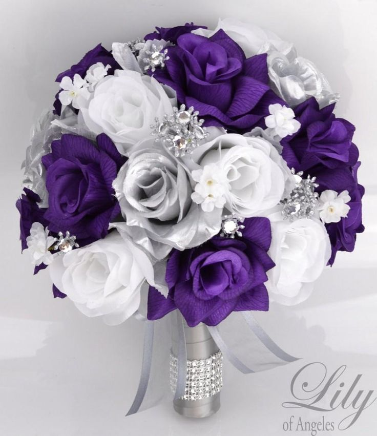 Dark Purple And Silver Wedding Theme Nemetasfgegabeltfo