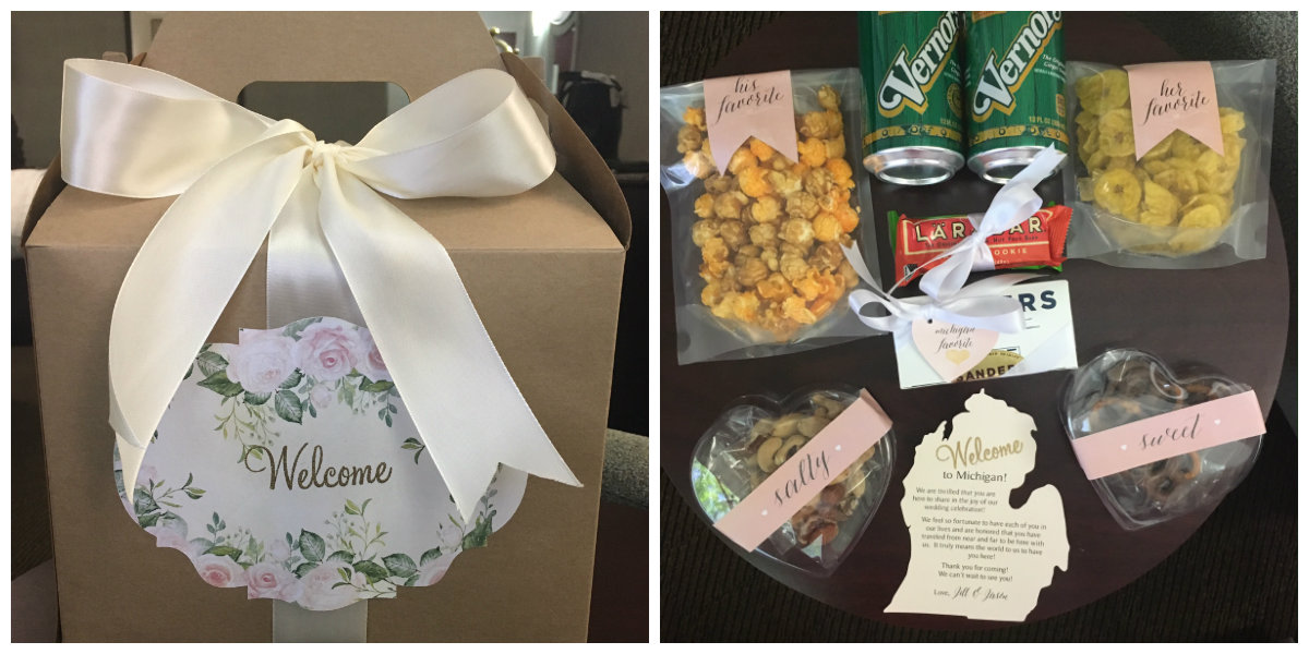 Wedding Hotel Guest Gift Bags: Wedding Hotel Welcome Bags