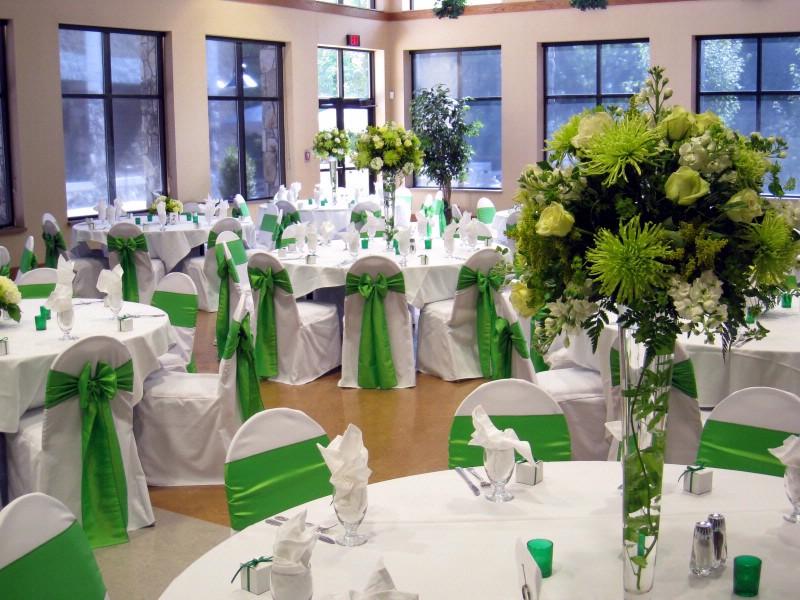 Green wedding decorations junglespirit Gallery