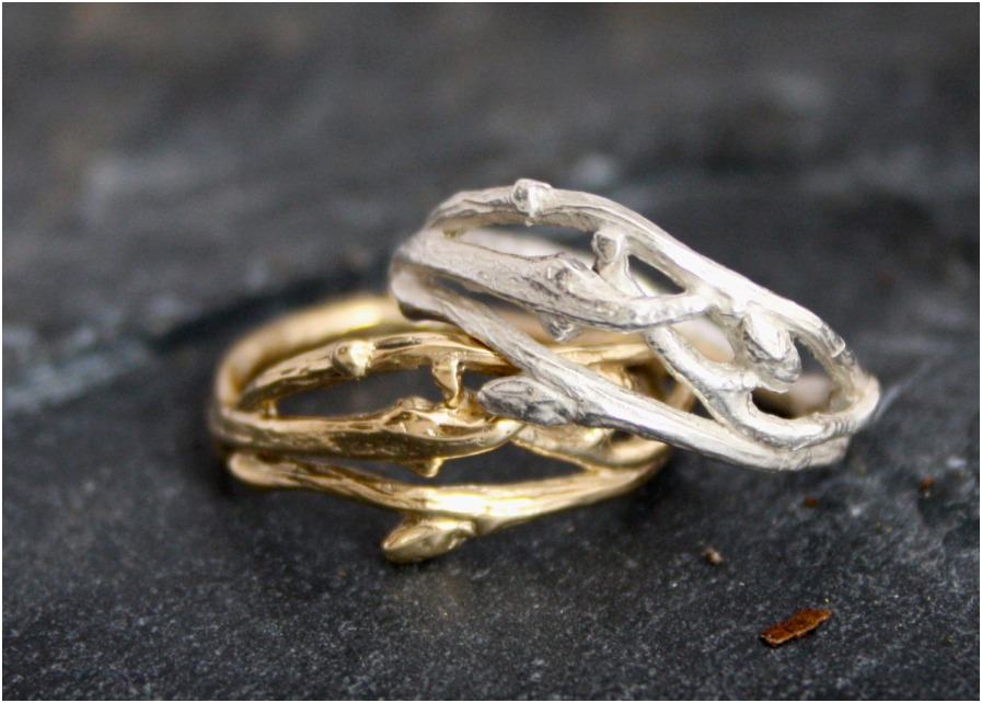matching rings the stone with gold hansen yellow of band elvish jens products engagement lord ring wedding contemporary