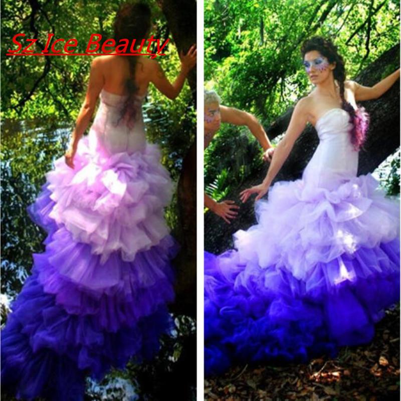 Emejing Blue And Purple Wedding Dress Ideas – Emasscraft.org