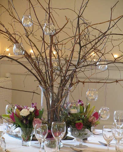 Wedding Twig Centerpieces Images - Wedding Decoration Ideas