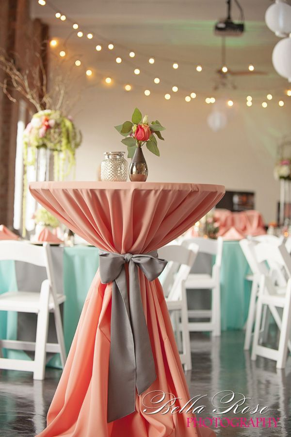 Coral and black wedding decorations junglespirit Images