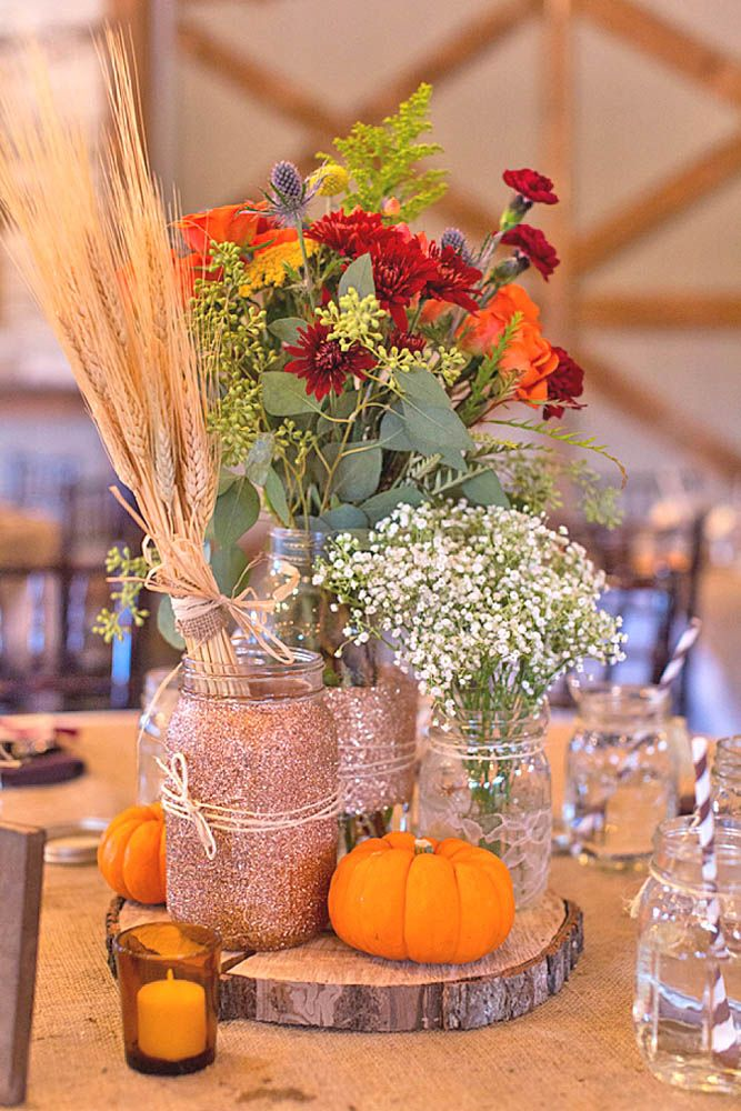 Fall wedding decorations ideas junglespirit Image collections