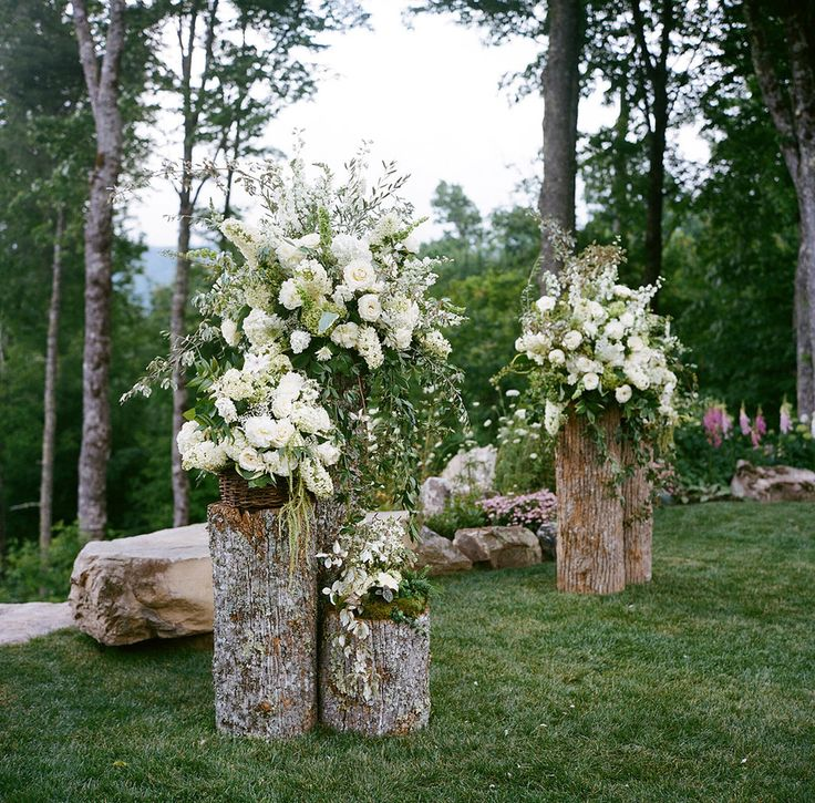 Ceremony Decorations For Outdoor Weddings Images