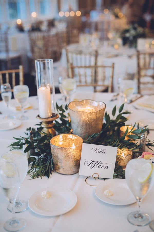 Wedding Reception Table Centerpieces