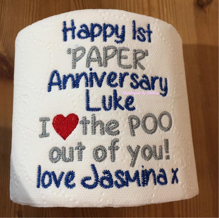 What Gift For 1st Wedding Anniversary: Paper Wedding Anniversary