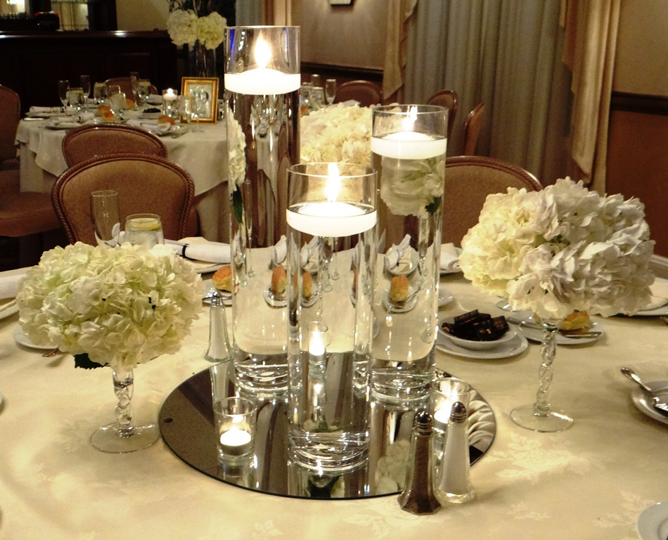 Floating Candle Centerpieces For Wedding Image collections - Wedding ...