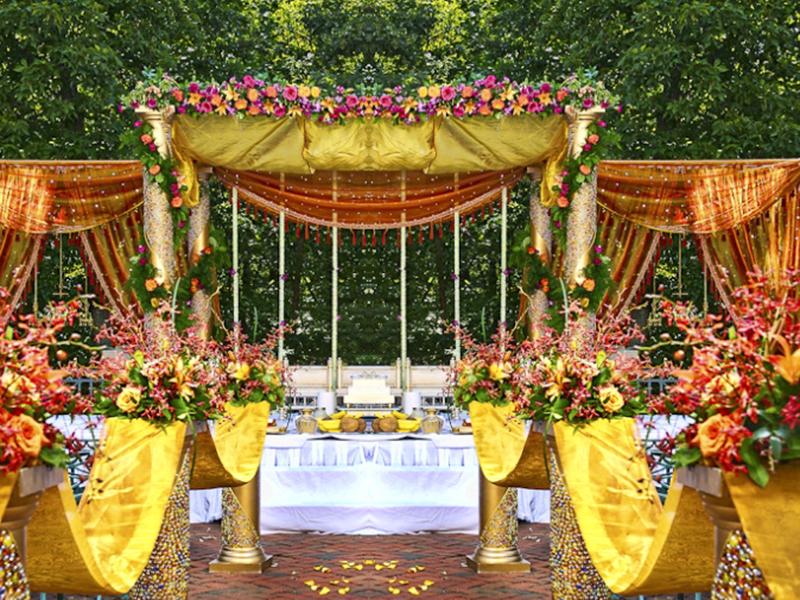 Flower Decoration Ideas For Indian Wedding Indian Wedimg Flower