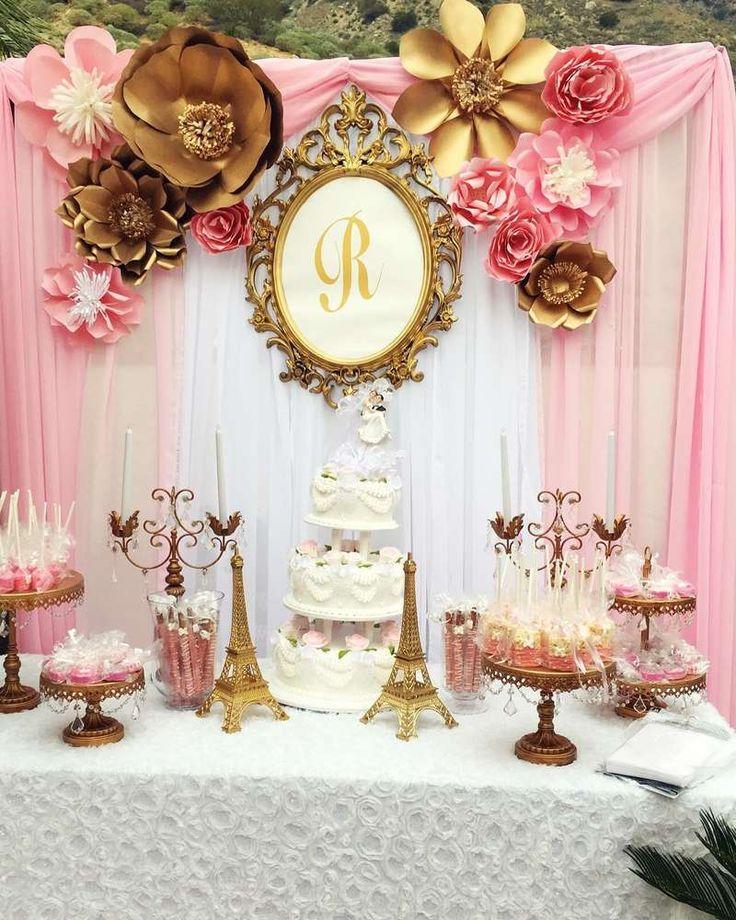 Glamorous Paris Wedding Theme Decorations 12 For Table Decorations