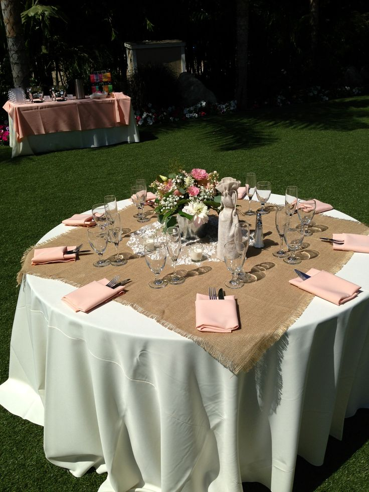 : rustic vintage wedding table settings - pezcame.com