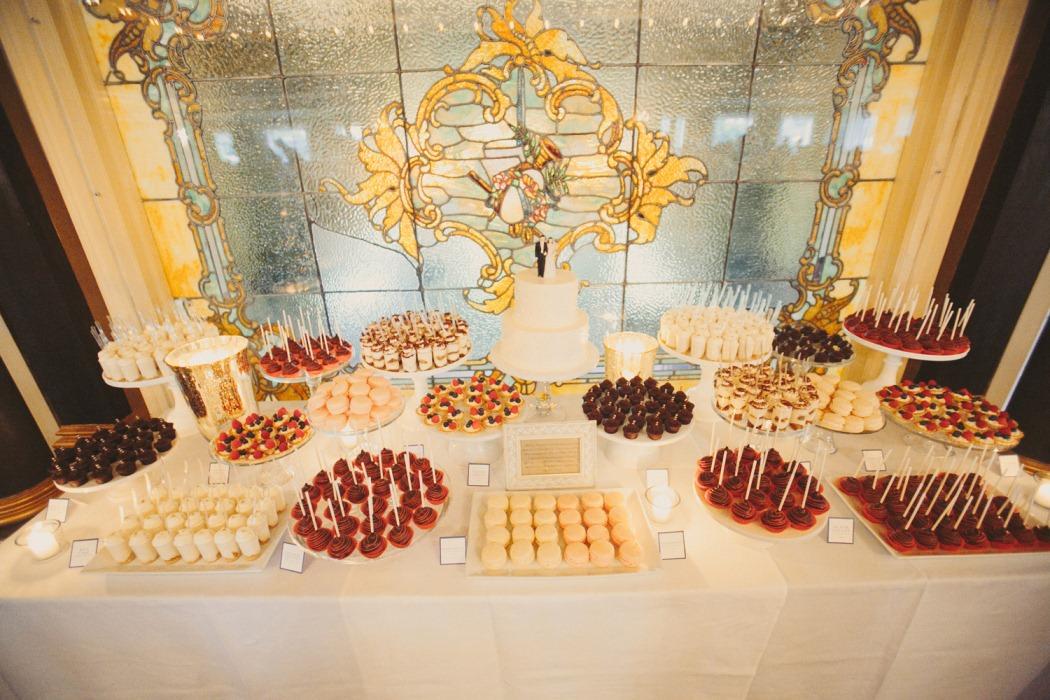 Desserts For A Wedding Dessert Table