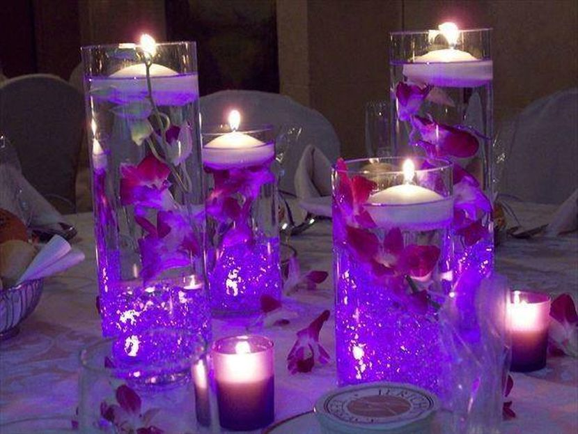 Light Purple Wedding Centerpieces Choice Image Wedding Decoration