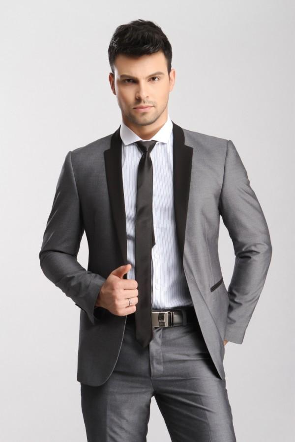 Colorful Grey Wedding Suits For Men Pictures - Wedding Plan Ideas ...