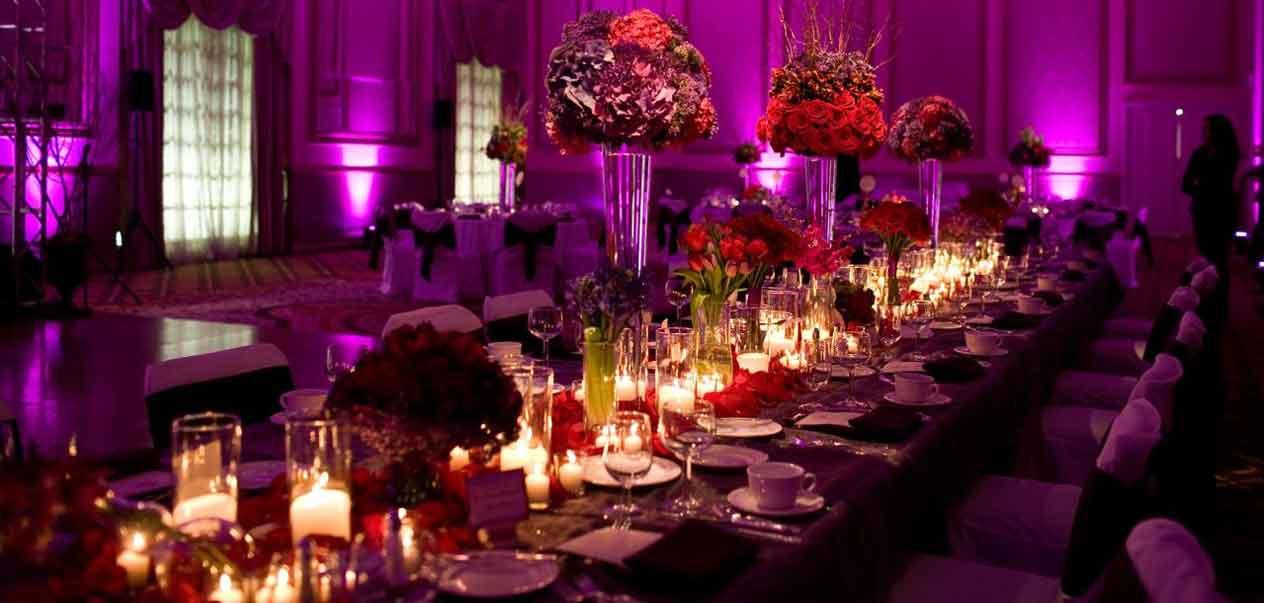 Ballroom wedding decorating ideas junglespirit Gallery