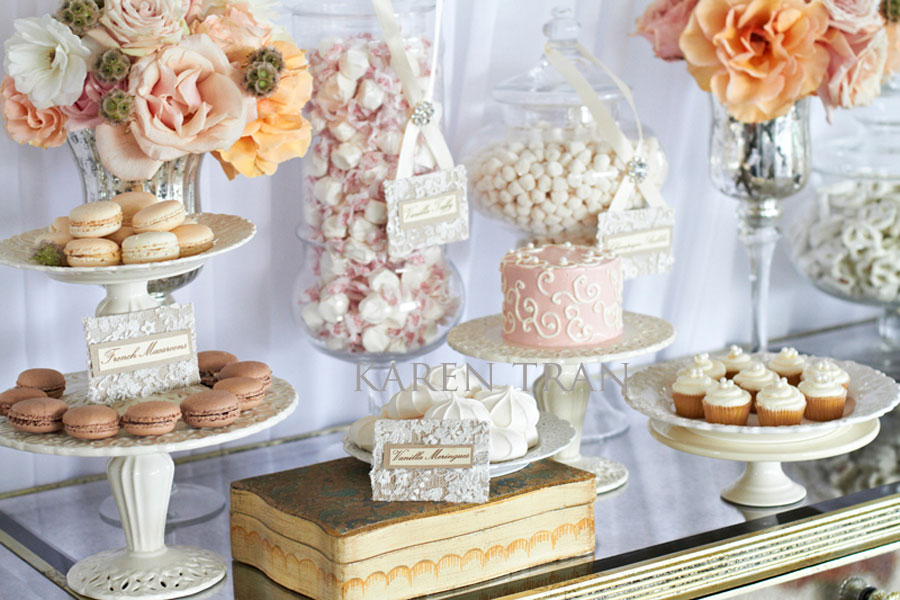 Vintage candy buffet wedding how to create and decorate a sweet wedding table watchthetrailerfo