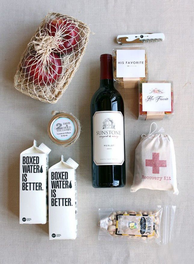 Hotel Gift Bags For Wedding Guests Images - Wedding Decoration Ideas
