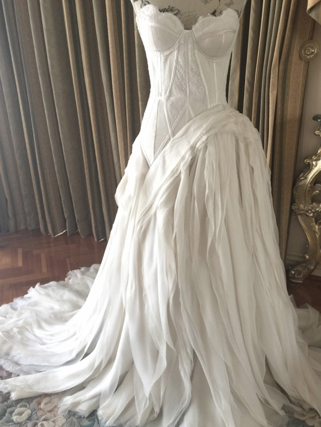 J Aton Couture Wedding Dress