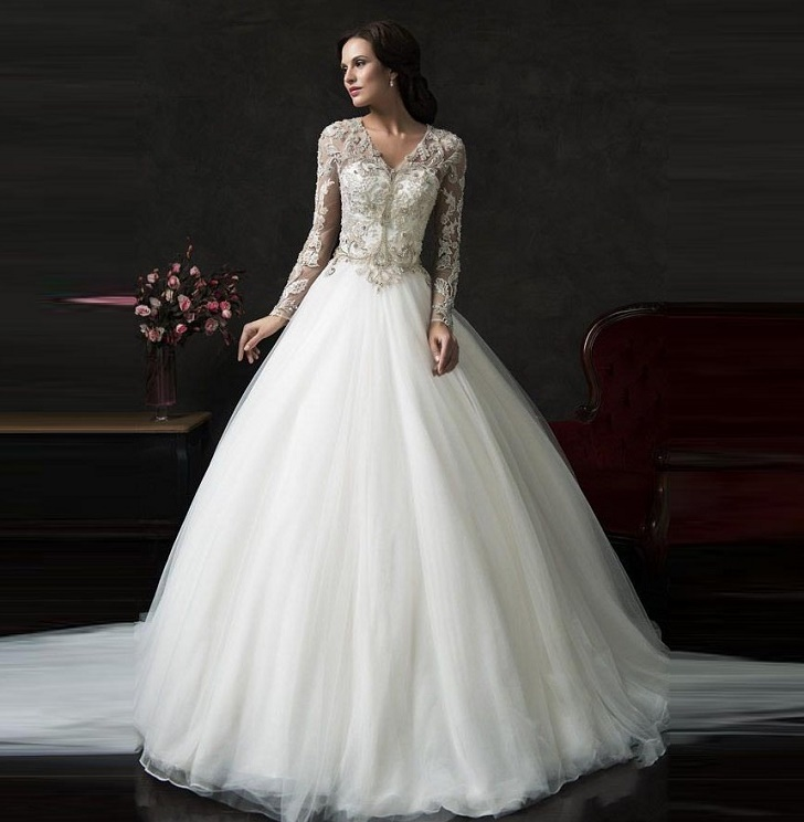 Lds Wedding Dresses A Pretty Wedding Dress For Pretty Bride