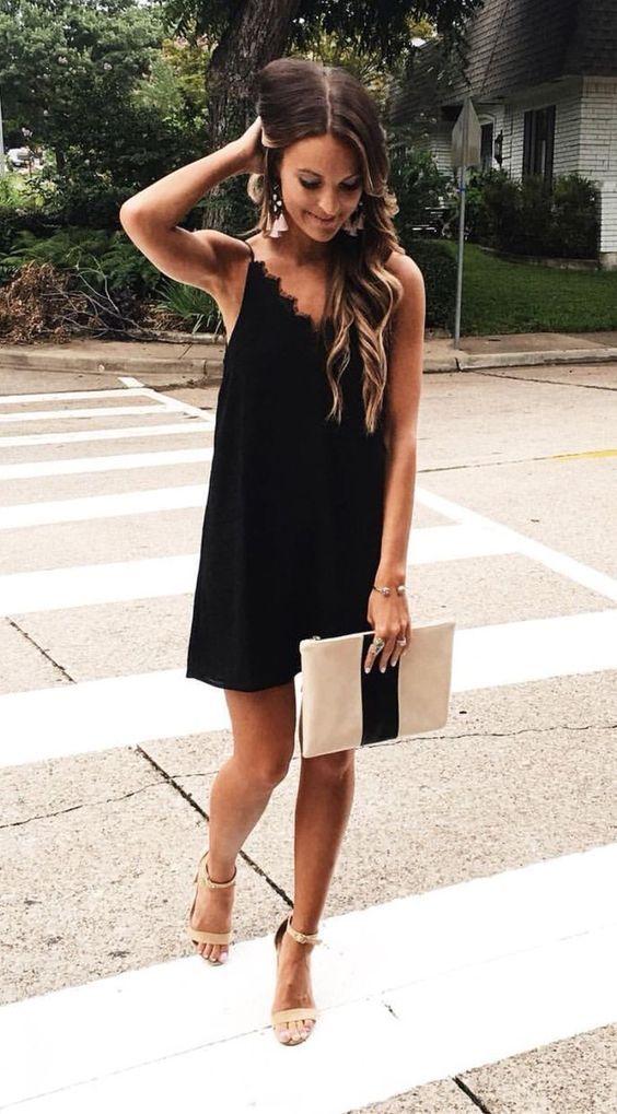 Dress Up Black Dress For Wedding
