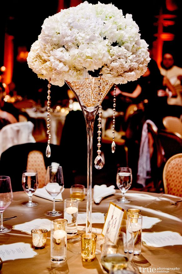 Large Champagne Glass Centerpieces For Weddings Image Collections
