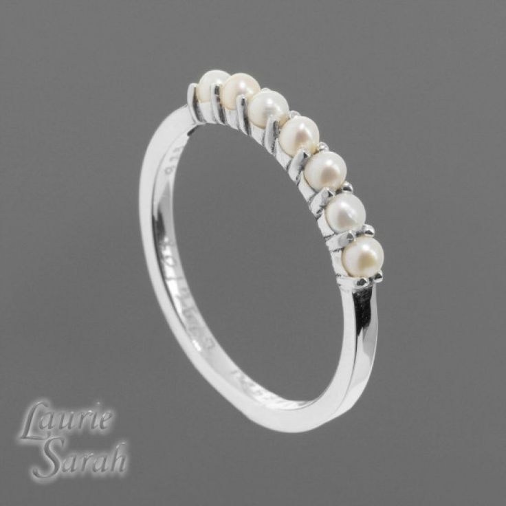 Marvellous Pearl Wedding Band 93 With Additional Cake Toppers For