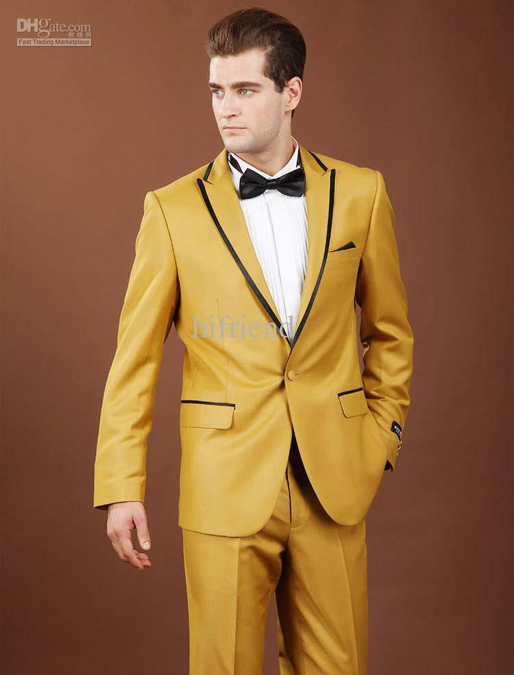 Yellow Wedding Suit