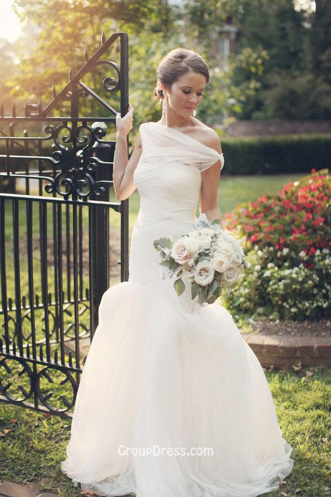 Beautiful Simple Fall Wedding Dresses Pictures - Styles & Ideas 2018 ...