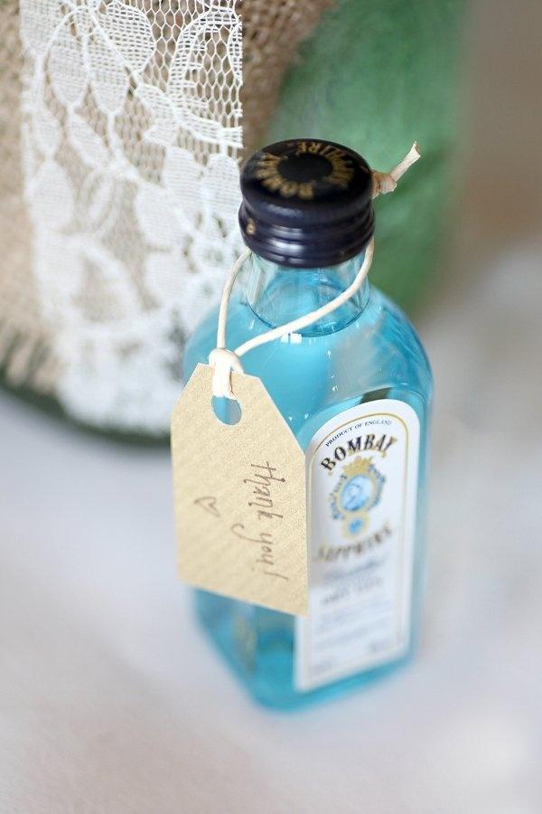 Mini Alcohol Bottles For Wedding Favors