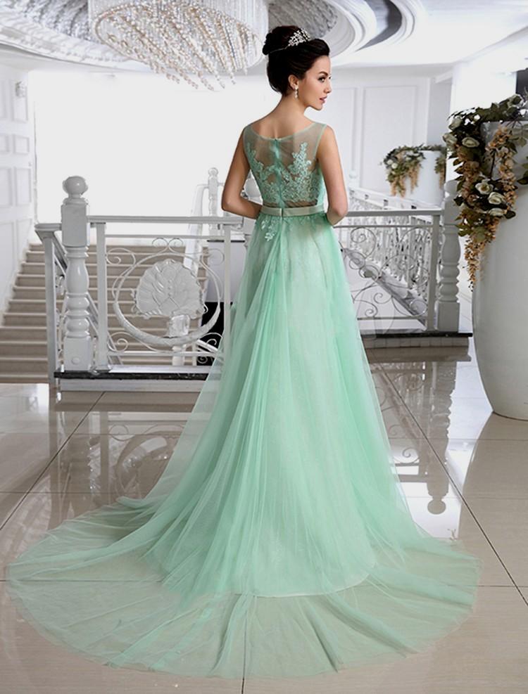 Seafoam Green Wedding Dress