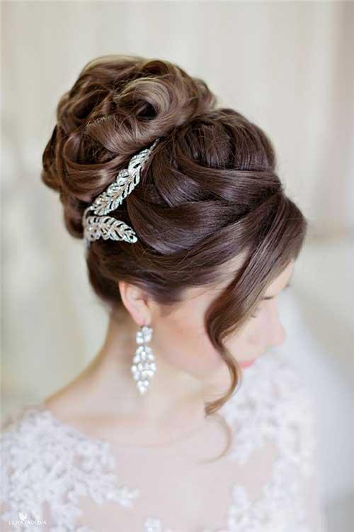 Stunning Bun Hairstyles For Weddings Contemporary - Styles & Ideas ...
