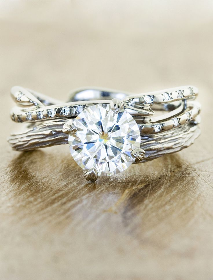 Country Style Wedding Rings