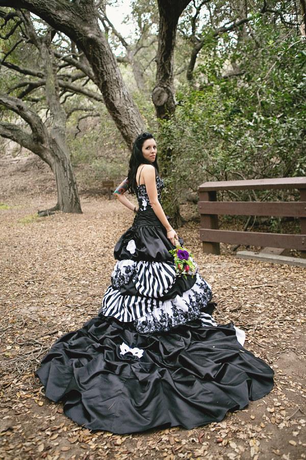 Nightmare Before Christmas Wedding Dress Emasscraft