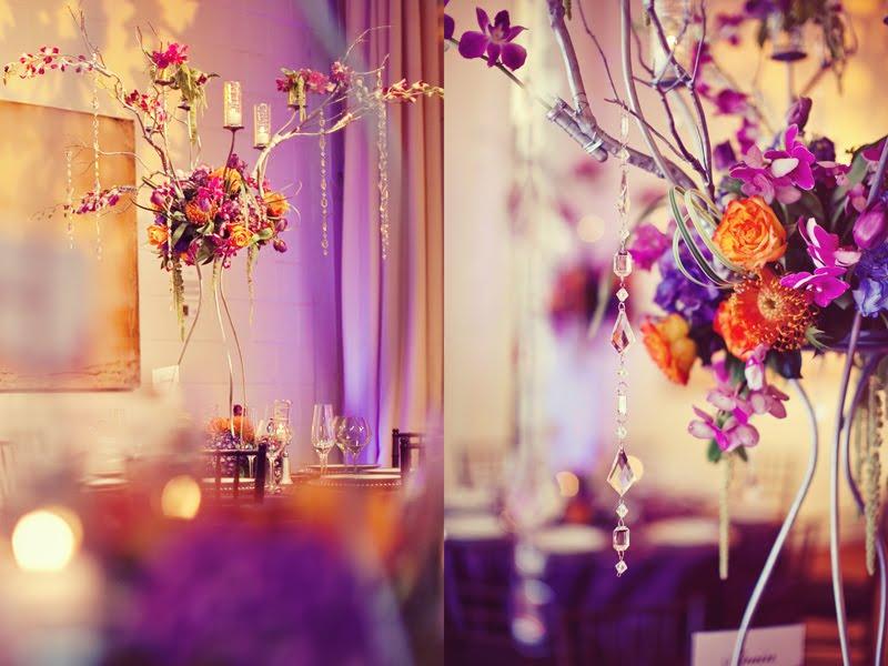 Pink Orange And Purple Wedding - Unique Wedding Ideas
