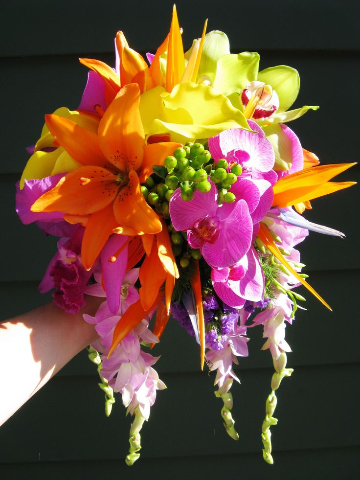 Tropical Flowers Wedding