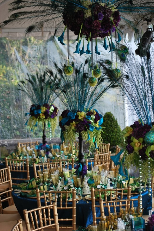 peacock centerpieces for sale exciting peacock wedding decorations rh emasscraft org