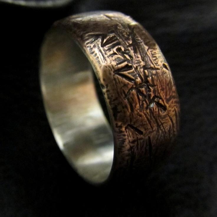 Preferred Copper Mens Wedding Band FA19