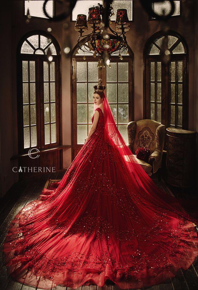 Maroon Wedding Dress. Aline Ball Gown Princess Halter Vneck Natural ...