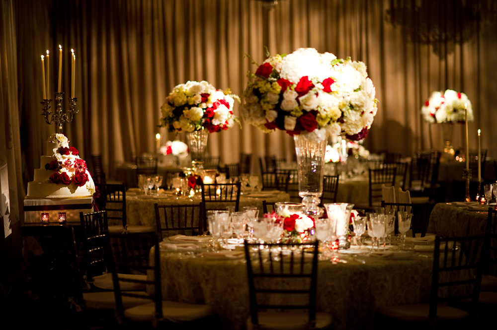Red And Ivory Wedding Reception Decorations Images Wedding Theme